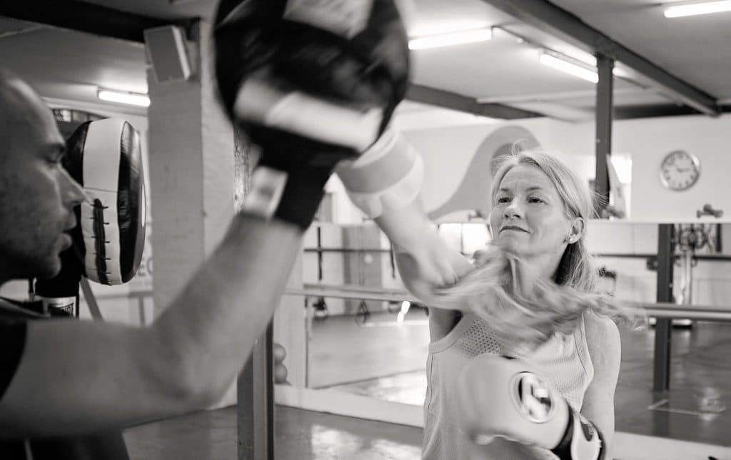 Boxing at Transition Zone in Parsons Green