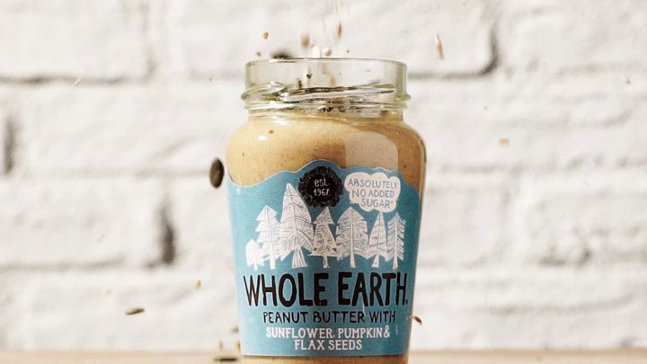Whole Earth Foods nut butter