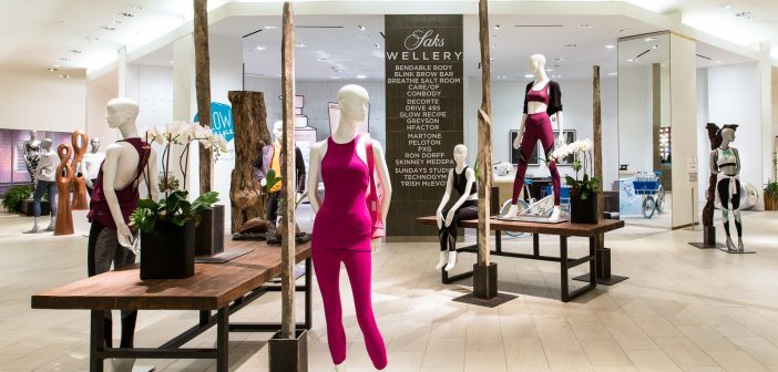 Saks Fifth Avenue Launches Experiential Wellness Concept