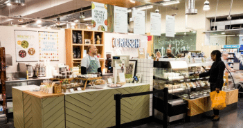 Sainsbury's has opened an instore Crussh food and juice bar